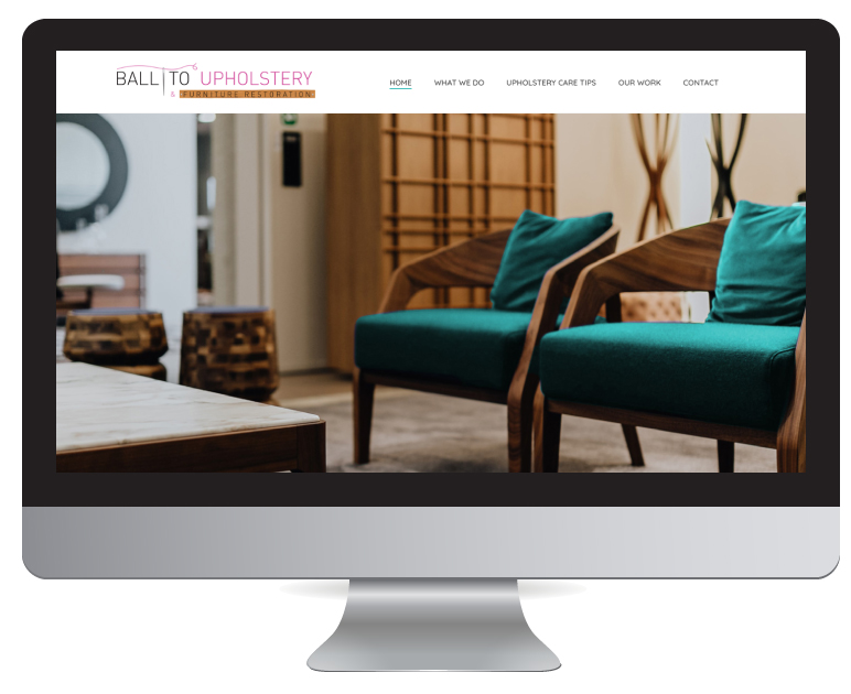 Website Design Durban - Ballito Upholstery