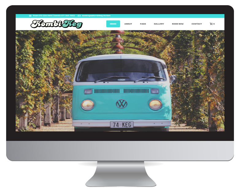 Website Design Durban - Kombi Keg