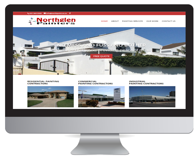 Website Design Durban - North glen