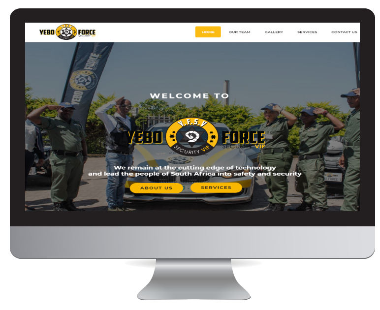 Website Design Durban - Yebo Force